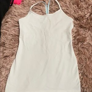 white ivivva tank top